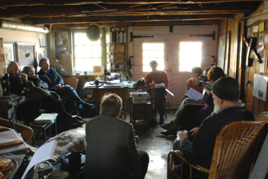 FIUWAC Board in discussion 2007