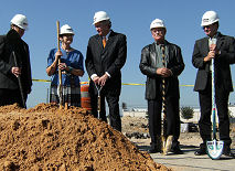 HBU groundbreaking dec 07 Houston