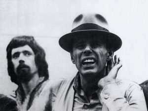 Joseph_Beuys_and_Waldo_Bien_1976